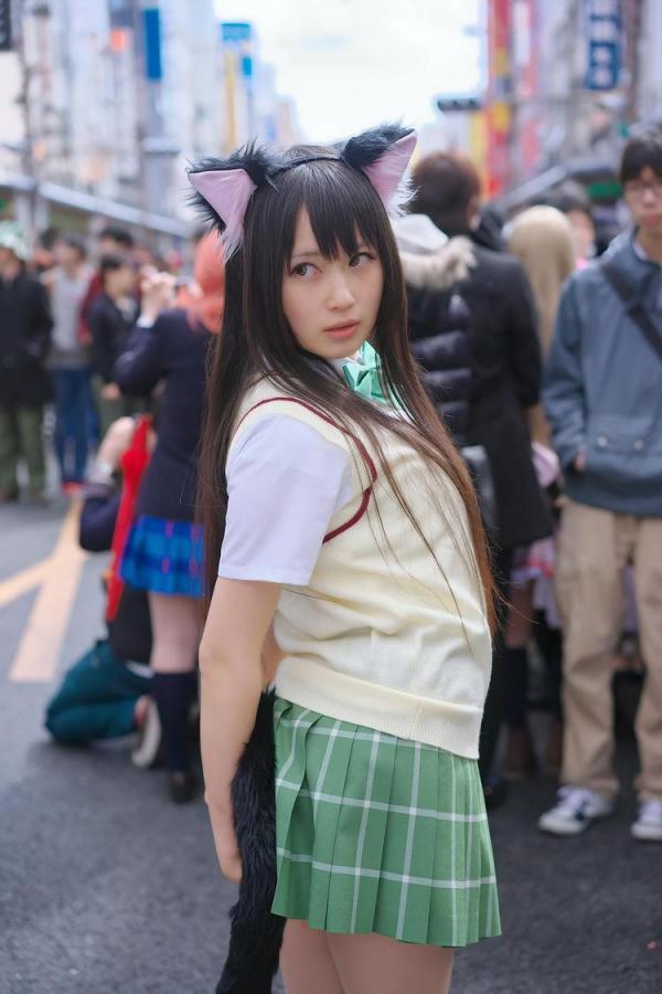 她是日本最胸coser 网友:肯定上不了CJ-第10张图片-梦月快巴