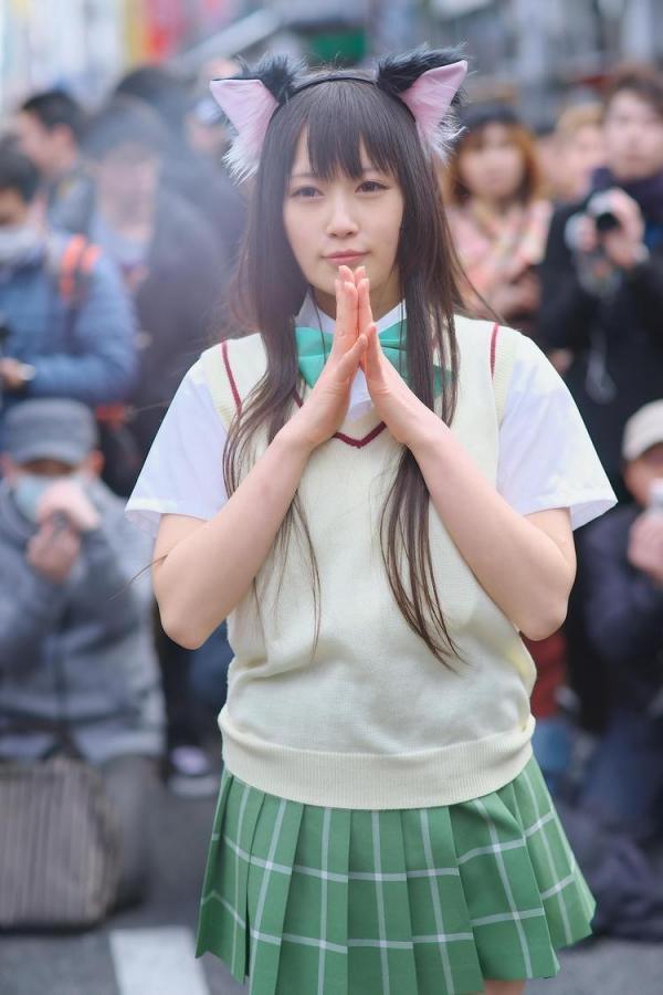 她是日本最胸coser 网友:肯定上不了CJ-第13张图片-梦月快巴