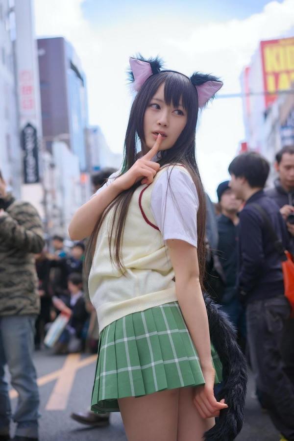 她是日本最胸coser 网友:肯定上不了CJ-第14张图片-梦月快巴