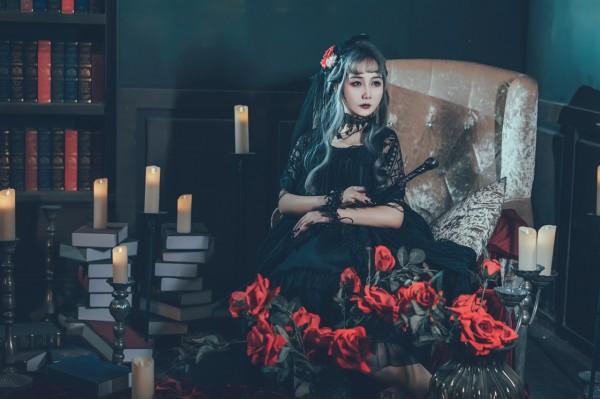 哥特风Lolita私影