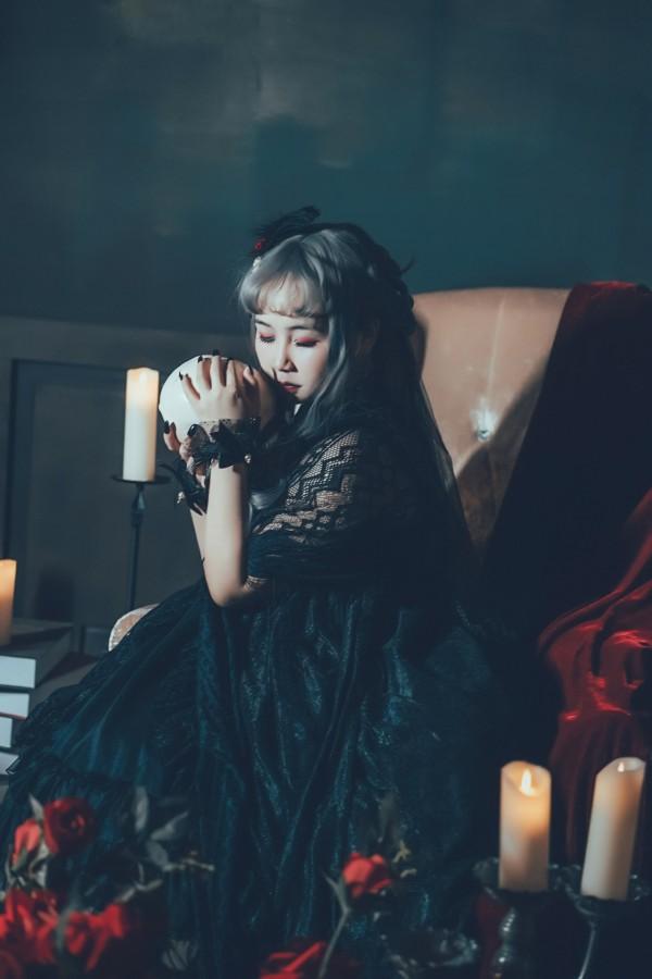 哥特风Lolita私影 -第3张图片-梦月快巴
