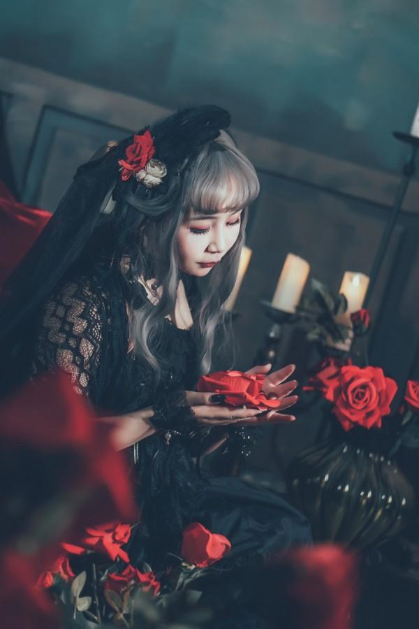 哥特风Lolita私影 -第4张图片-梦月快巴