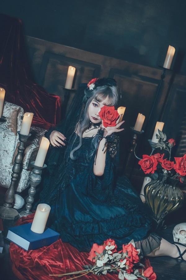 哥特风Lolita私影 -第5张图片-梦月快巴