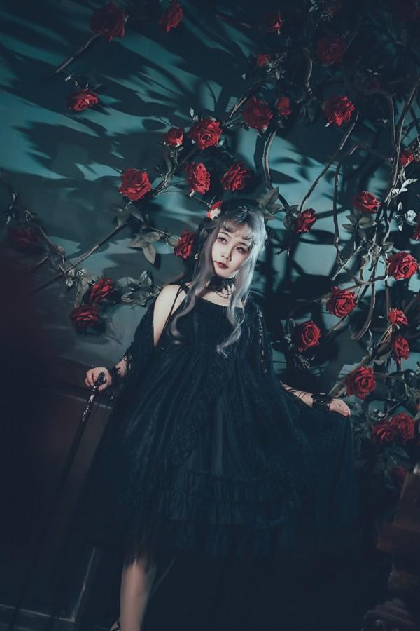 哥特风Lolita私影 -第6张图片-梦月快巴